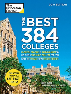 Princeton Review Best 384 College book cover