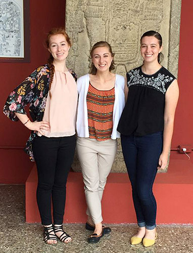 archaeology trio