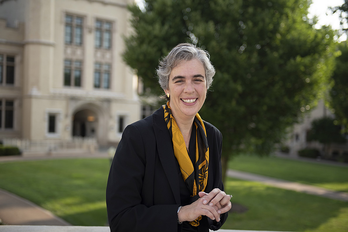 President Sarah Bolton
