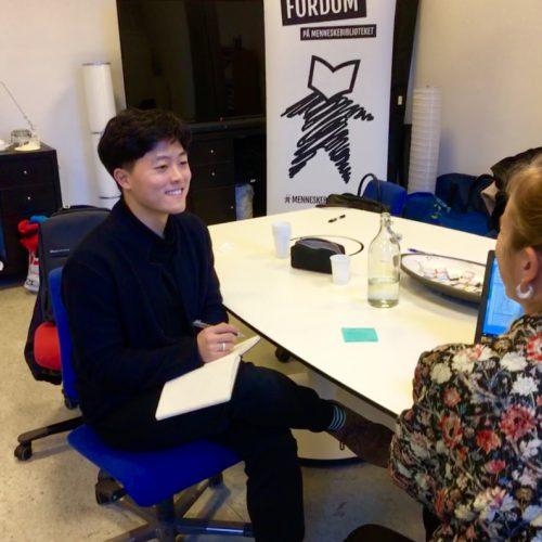 "For his I.S., Jisou ""Armel"" Lee '19 interviewed the Human Library Organization's program coordinator in Copenhagen."