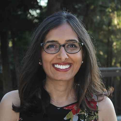 Bhakti Mamtora, assistant professor of religious and South Asian Studies