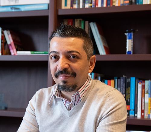 Ahmet Atay, professor of communication studies and chair of the Women's, Gender, and Sexuality Studies; Global Media and Digital Studies, and Film Studies