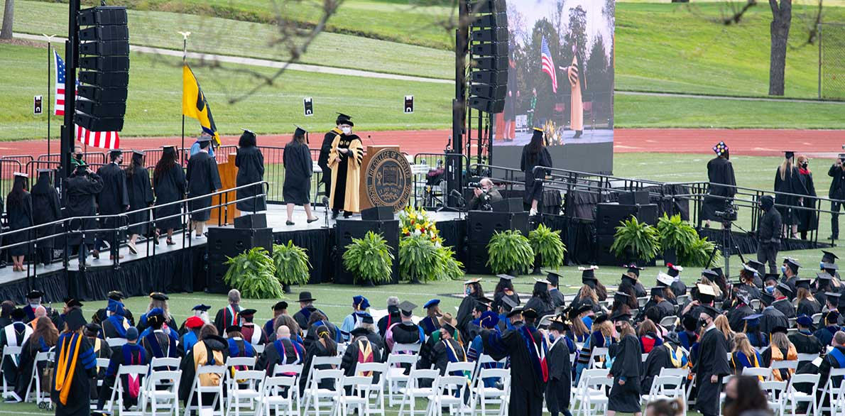 Wooster's 151st Commencement