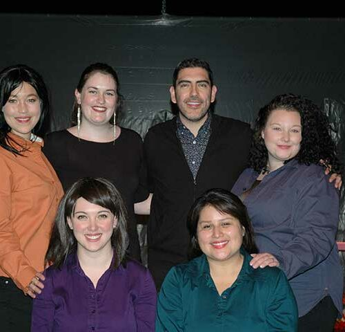 Members of Teatro Travieso/Troublemaker Theatre on a previous tour of the play