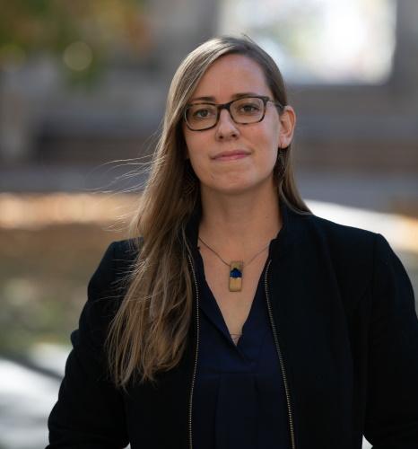 Désirée Weber, assistant professor of political science