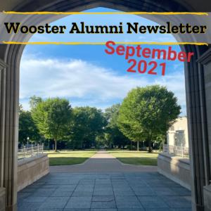 Wooster Alumni Newsletter September 2021