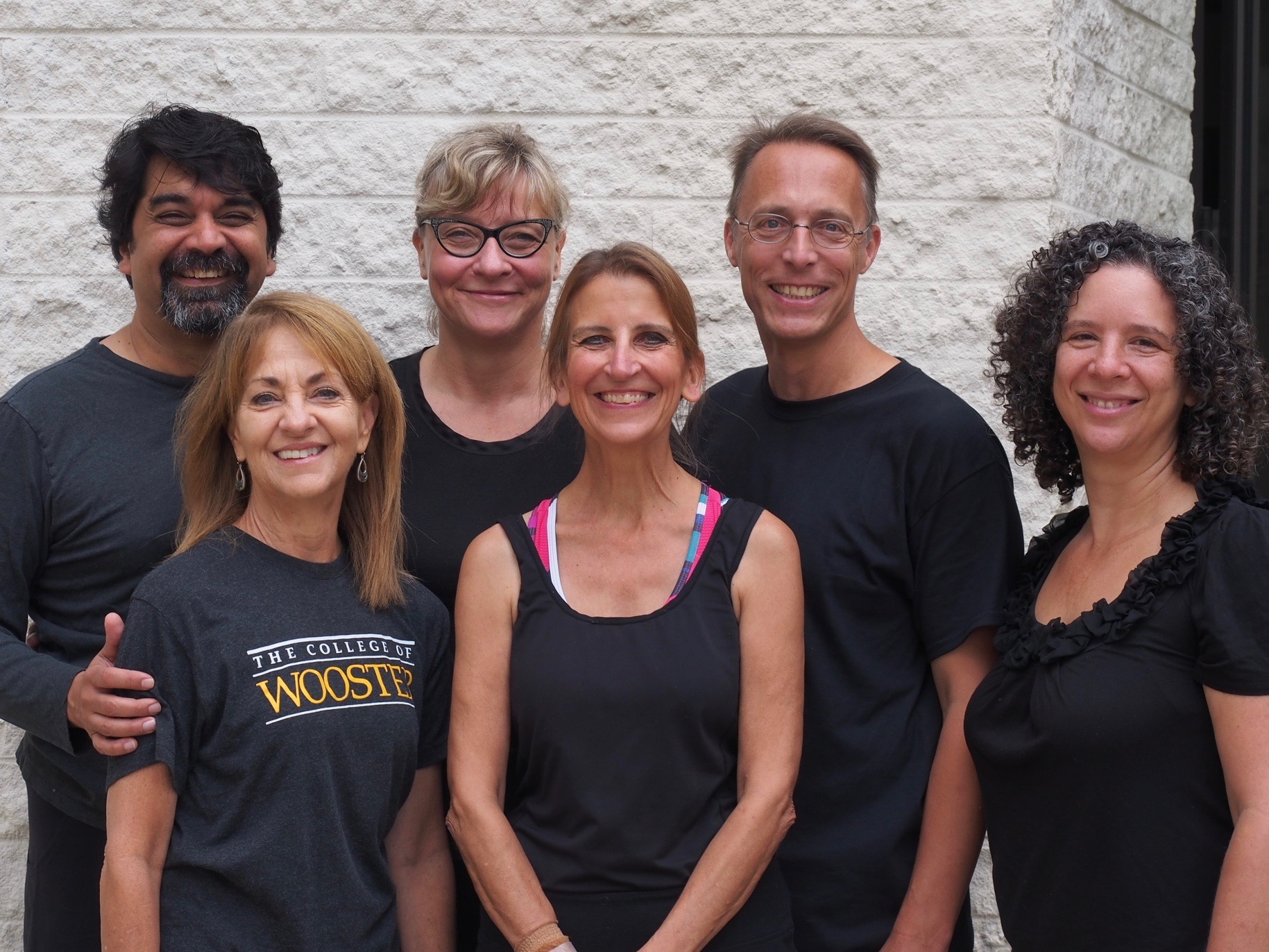 An interdisciplinary team of Wooster faculty participated in the experience