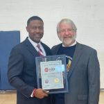 Kurt Russell receives Ohio Teacher of the Year award