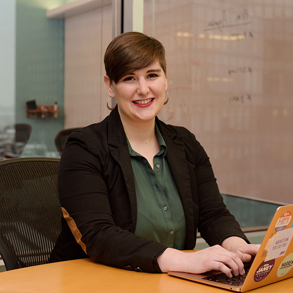 professional photo of gina christo, alumna of The College of Wooster